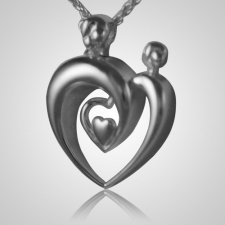 Double Parent Heart Keepsake Pendant III