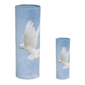 Dove Scattering Biodegradable Urns