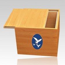 Norwegian Doves Cremation Urn