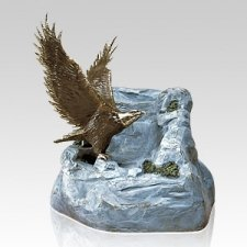Eagle Bronze Cremation Urns