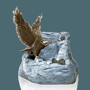 Eagle Bronze Cremation Urns