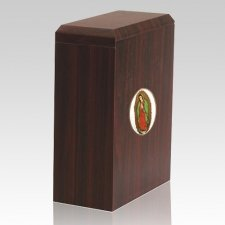 Scottish Lady Of Guadalupe Cremation Urn