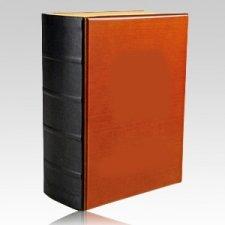 Edwards Wooden Book Urn