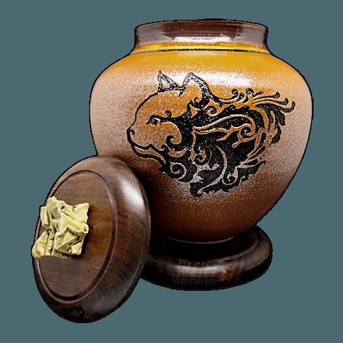 Ember Feline Cremation Urn