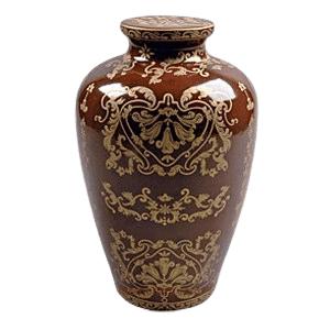 Emperor Porcelain Cremation Urn