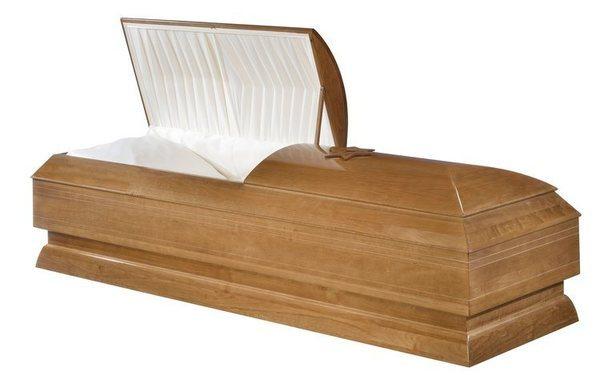 Ephraim Wood Casket