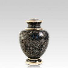 Slate Essence Medium Cloisonne Urn