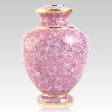 Rose Essence Cloisonne Urn