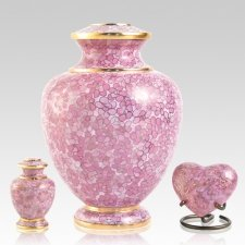 Rose Essence Cloisonne Cremation Urns