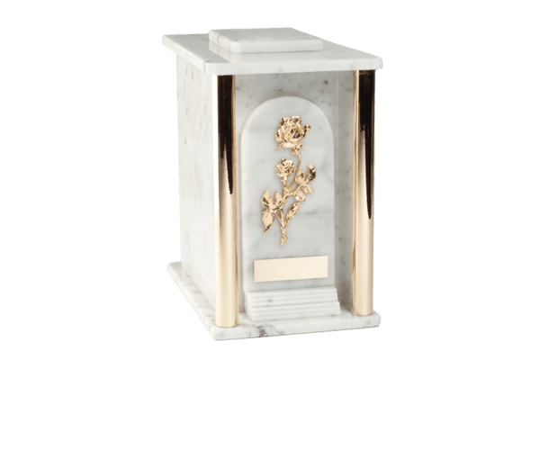 Estate Carrara Cremation Urn