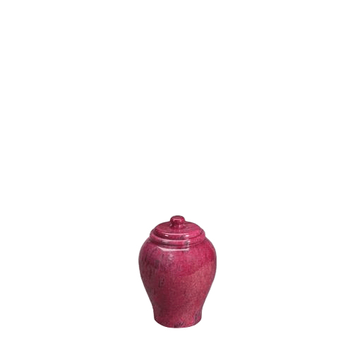 Lava Small Marble Cremation Urn