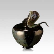 Faldo Blackolodas Glass Urn