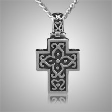 Filigree Classic Cross Keepsake Pendant