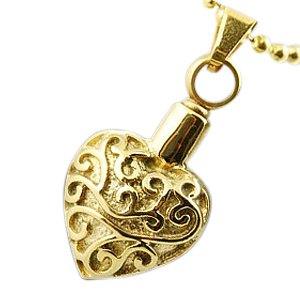 Filigree Heart Cremation Jewelry II