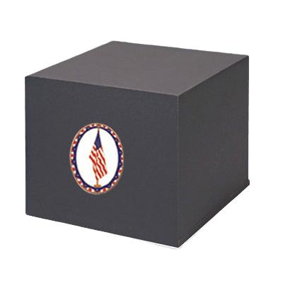 Swedish US Flag Cremation Urn