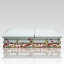 Flower Bed Casket
