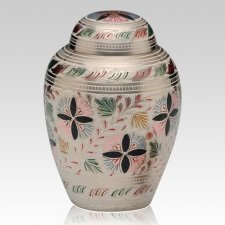 Flower Medium Cremation Urn