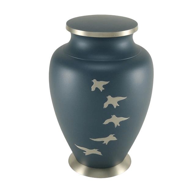 Flying Birds Cremation Urn