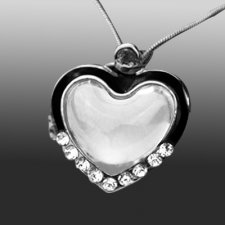 Forever Heart Cremation Jewelry