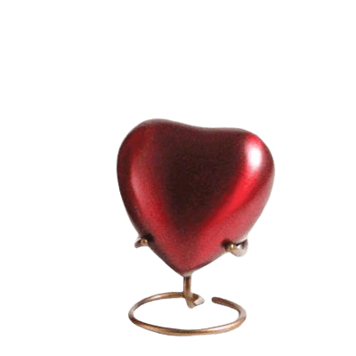 Fortitude Heart Cremation Urn