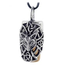 Fox Brown Cremation Necklace