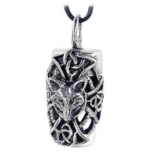 Fox Cremation Necklace