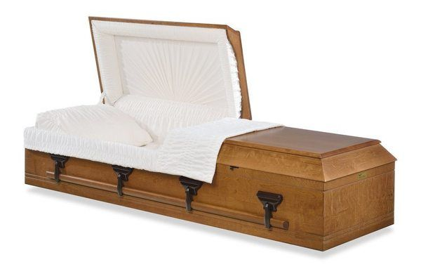 Freeport Wood Casket