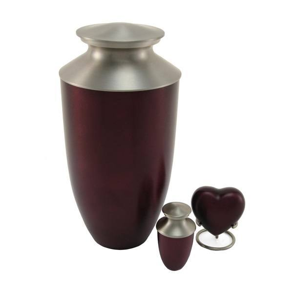 Fremont Red Cremation Urns