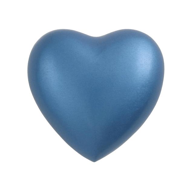 Fremont Blue Heart Keepsake Urn