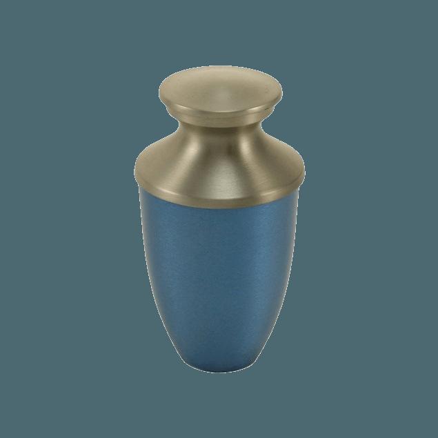Fremont Blue Keepsake Cremation Urn