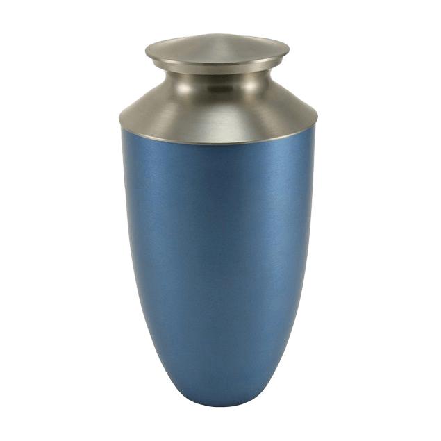 Fremont Blue Cremation Urn
