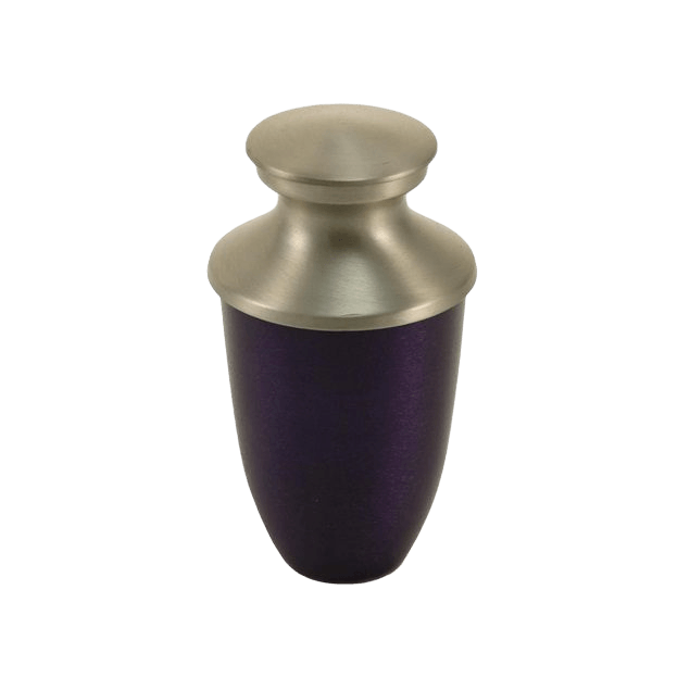 Fremont Purple Keepsake Cremation Urn