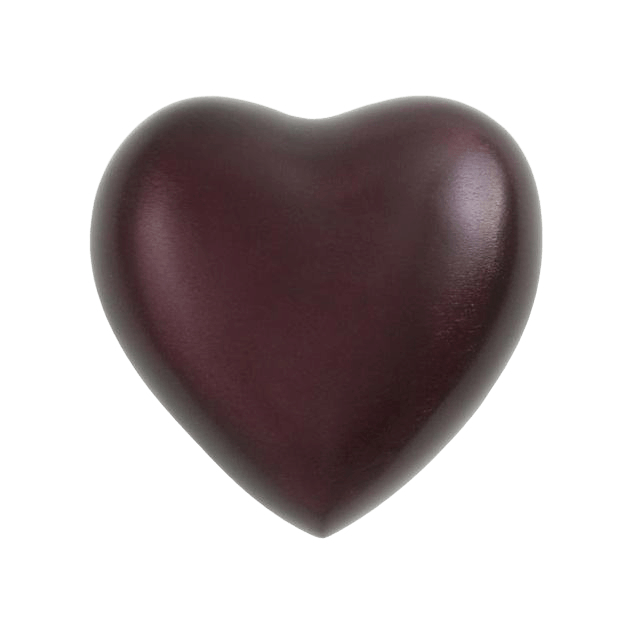 Fremont Red Heart Keepsake Urn