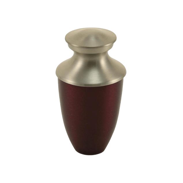 Fremont Red Keepsake Cremation Urn