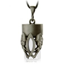 Christian Cremation Urn Necklace