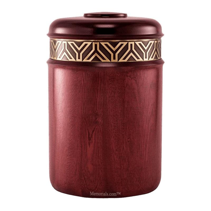 Gatsby Wood Cremation Urn