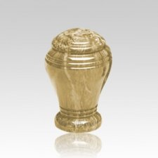 Golden Sunset Marble Cremation Urn II