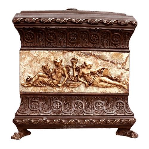 Emperor Sculpted Art Grand Cremation Urn