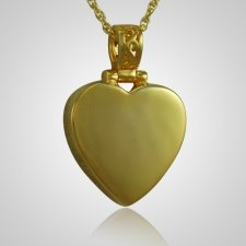 Grand Heart Keepsake Pendant For Two II