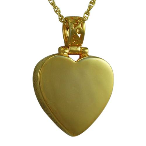Grand Heart Keepsake Pendant For Two IV