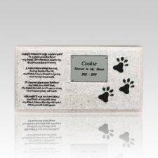 Dog Grave Marker Memorial