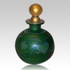 Emerald Round Keepsake Urn