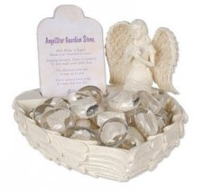Guardian Wing Comfort Stone Keepsake Set