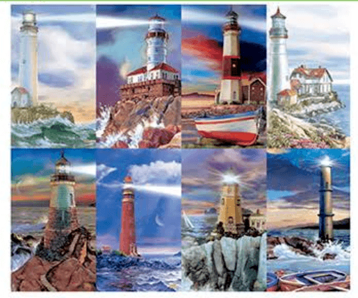 Lighthouse Prayer Cards