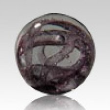 Black Perpetual Glass Keepsake