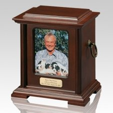 Newport Picture Cremation Urn