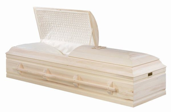Haifa Wood Casket