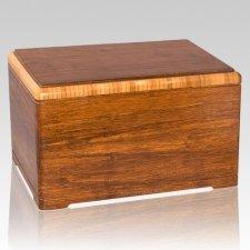 Elegant Bamboo Cremation Urn