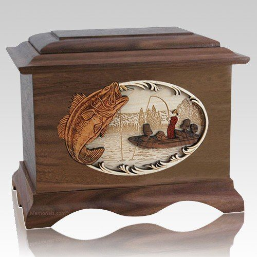 Catch of the Day Wood Cremation Urns