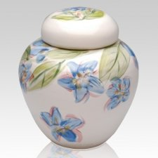 Blue Dogwood Companion Cremation Urn